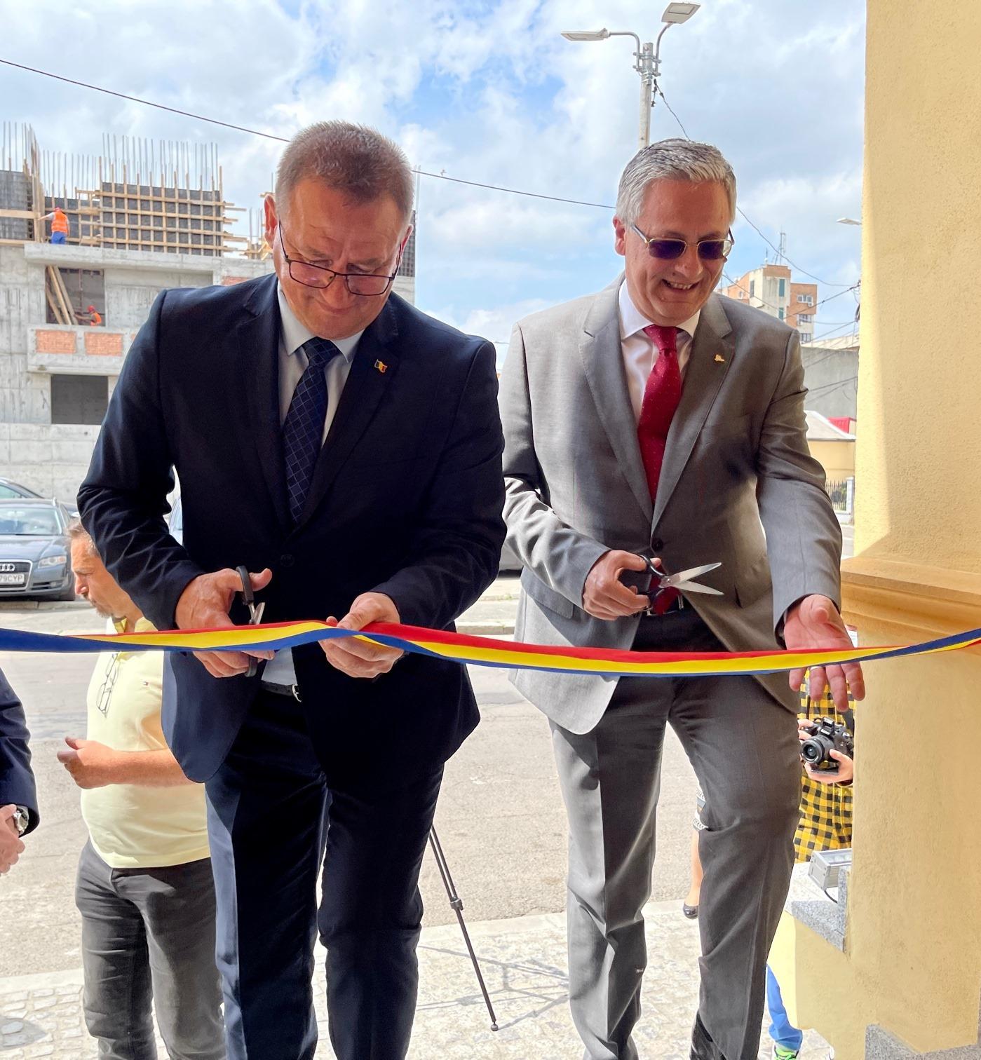 Monumentul istoric Poșta veche din Municipiul Călărași, primul proiect care a primit finanțare Regio în perioada 2014-2020, a fost finalizat!